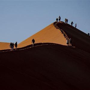 Från Eldslandets glaciärer till Namibias sanddyner