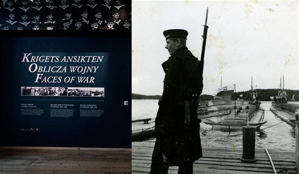 © SMTM, En man som står på en brygga med ett gevär hängandes på axeln
