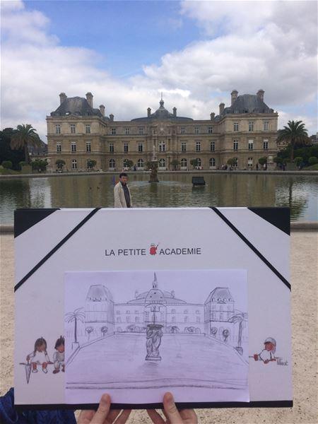 Croquez Montpellier, le parcours artistique by LA PETITE ACADÉMIE
