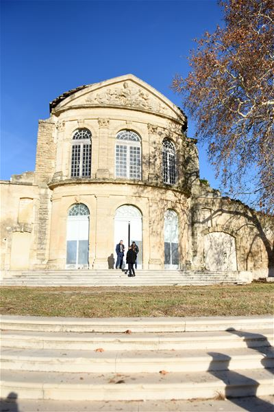 French guided tour - Domaine Bonnier de la Mosson