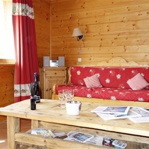 2 rooms 4 people ski-in ski-out / LE BELVEDERE (mountain of charm) / Tranquility Booking