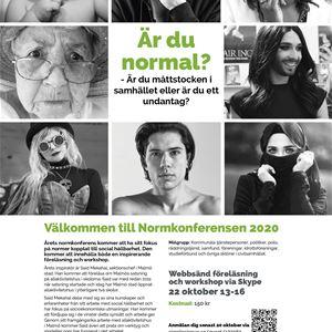 Normkonferensen 2020 - Online