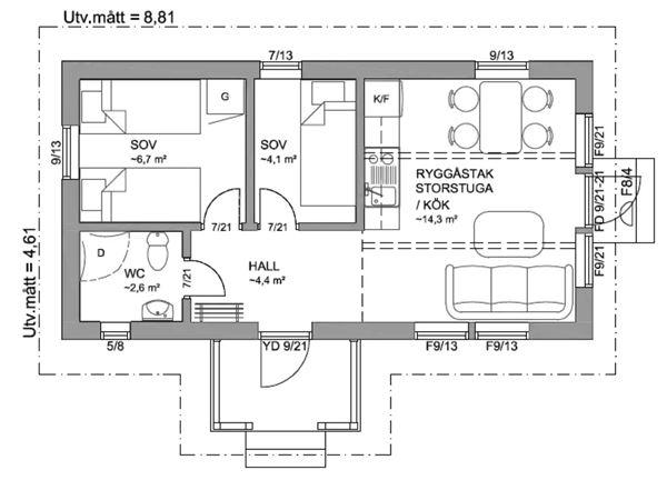 Vasaloppet. Private cabin, M537, Mora