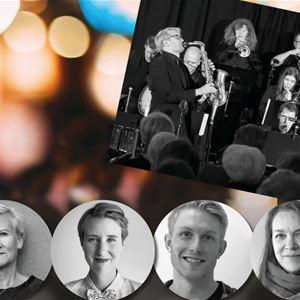Konsert: Storbandskväll med Alandia Big Band på restaurang Nautical i Mariehamn
