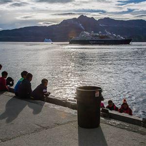 Utställning om Grönland på Jomala Bibliotek