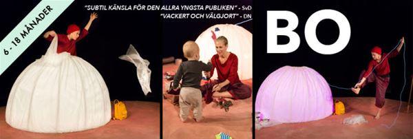BO - en teaterföreställning för bebisar (6-18 mån).