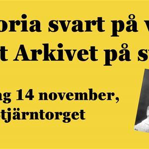 © Copy: https://www.facebook.com/events/1032169803889658/, Arkivens dag 2020: Träffa Arkivet på stan!