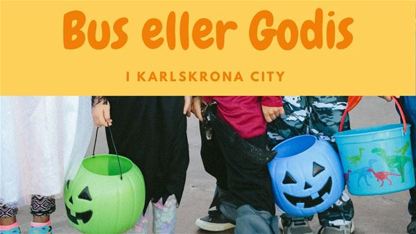 Trick or Treat in Karlskrona City