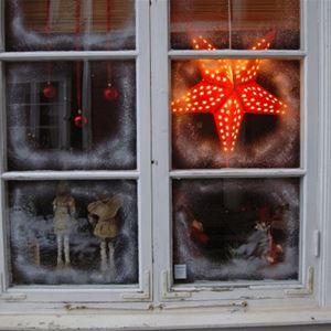 Julskyltning hos Handlarn i Tannåker