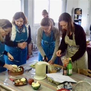 De la terre à l'assiette (atelier cueillette, cuisine et dégustation)