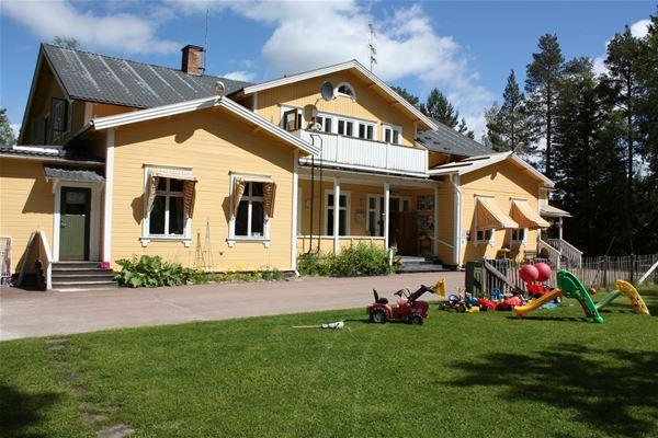 Summer at turistgården.