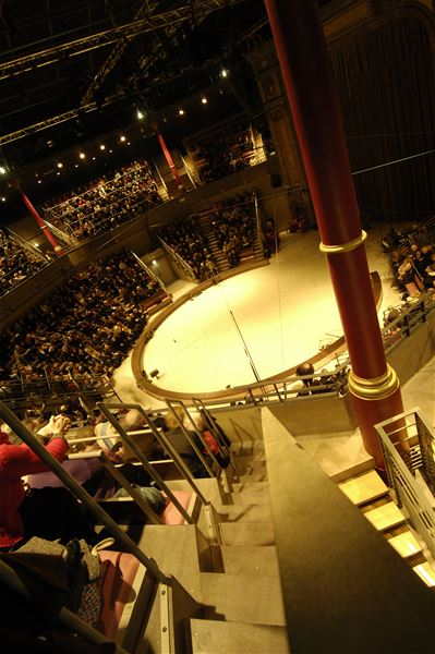 Cirque Théâtre d'Elbeuf (visite guidée)