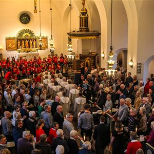 Spring concert in Älmults church
