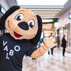 Bild på Maskot Höstlov i Valbo Köpcentrum