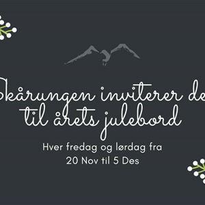 Julebord på Skårungen med Hælsikes kvinnfolk lørdag 28. november.