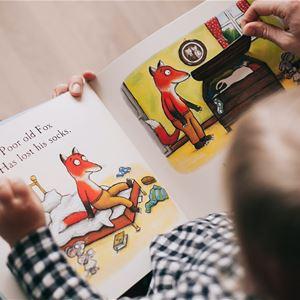 Boklek med de små