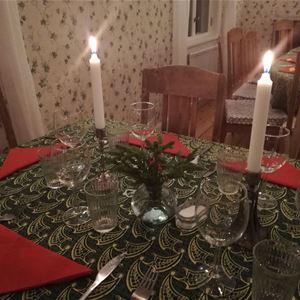 Julbord på Arholma - vinter i skärgården