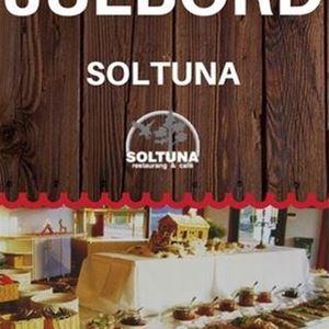 Christmas buffet at restaurant Soltuna