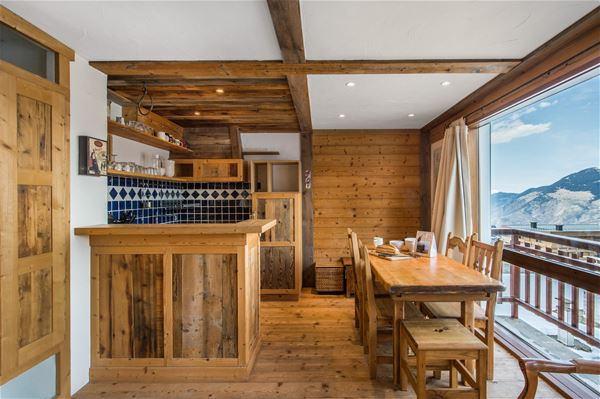 1 Studio 4/5 people ski-in ski-out / RESIDENCE 1650 52 (Mountain of Charm) / Tranquillity Booking