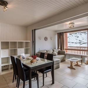 1 studio 4/5 people ski-in ski-out / RESIDENCE 1650 28 (Mountain of Charm) / Tranquillity Booking