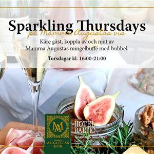 Sparkling Thursday på Mamma Augustas Kök