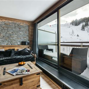 2 rooms 5 people ski in-ski out / OURSE BLEUE 903 (Mountain of Charm) / Tranquillity Booking