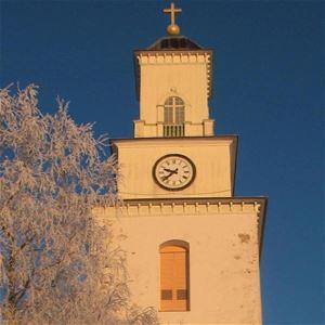 Bild på Boda kyrka.