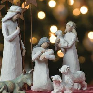Jeff Weese, Jesusbarnet, Josef och Maria.