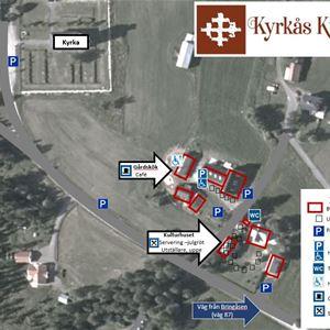 INSTÄLLT - Julmarknad på Kyrkås Kulturgård