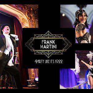 Nyårsshow med Frank Martini