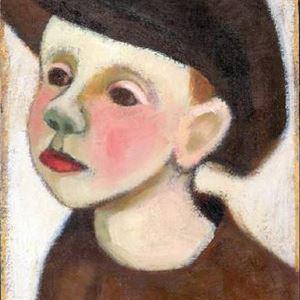 Pojke i skärmmössa, Berta Hansson