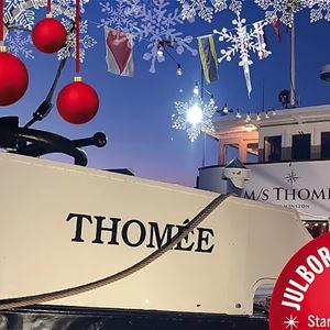Christmas spirit on M/S Thomée