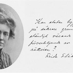 Studiecirkel om Frida Stéenhoff
