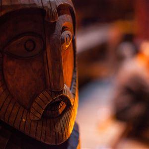 © Kjell Ove Storvik/Lofotr Vikingmuseum, Julelunsj hos vikingene