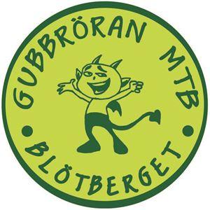 Blötbergets logga med en grön figur.