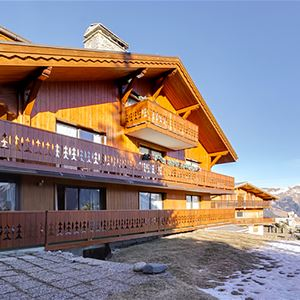 3 room with cabin 6 people / CHALET LES CAMPANULES Appartement n°1 (Mountain of Charm)