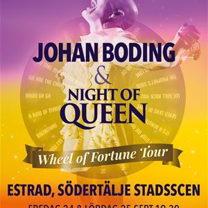 Johan Boding & Night of Queen - Wheel of Fortune