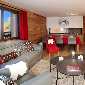 4 rooms, 8 people / OURSE BLEUE 801 (Mountain of charm) / Tranquillity Booking