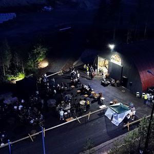 KymiRing MotoGP Pop Up Tent Park for Motorists | Finprofile