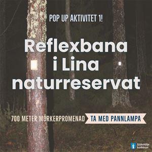 POP-UP aktivitet: Reflexbana i Lina naturreservat – ta med pannlampa