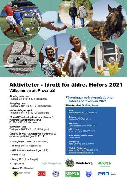 Aktiviteter - Idrott för äldre - Aktivitetsdag med prova på aktiviteter på stålringen