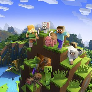 Digital workshop: Bygga maskiner i Minecraft