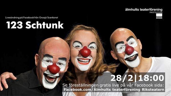 Livesänd teater: 123 Schtunk