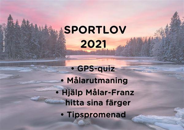 """Sportlovsaktiviteter """"på egen hand"""" vid Naturum och Färnebofjärdens Nationalpark"""