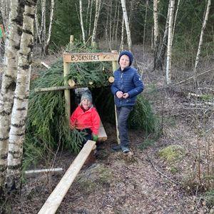 Testa äventyrsbanan i Kastebergsskogen