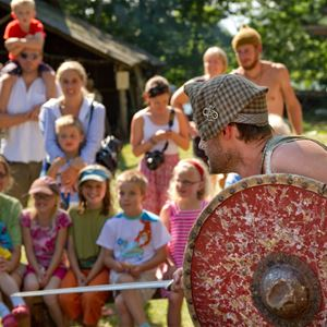 Vikingabyn Storholmens Vikingasommar