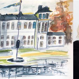 Konstutställning Sanna Ekman på Rånäs Slott
