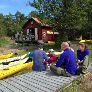 © Gräsö Kanotcentral, Nybörjarkurs i havskajak  - Gräsö Kanotcentral, Rävsten