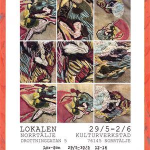 Konstutställning Nya Ramar Bodil Löthman