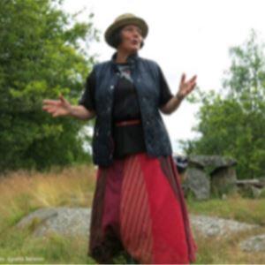 © Vibeke Hyltén-Cavallius, Berättarvandring kring Trollberget, för barnfamiljer.